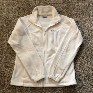 Off White Columbia Jacket-Excellent Condition
